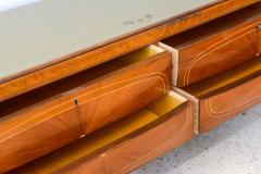 Dassi Italian Modern Mahogany Fruitwood Bronze Mounted Sideboard Buffet or Dassi - 422561