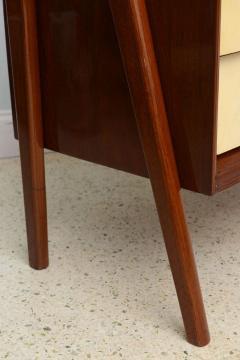 Dassi Italian Modern Mahogany and Parchment Commode Dassi - 348653