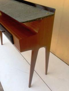 Dassi et Figli Amazing Console with Verde Alpi Marble Floating Top - 1394665