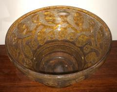 Daum Daum Nancy Art Deco Acid Etched French Museum Glass - 241625