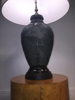Daum Fantastic Art Deco Daum Nancy Glass Lamp - 599400