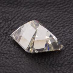 De Beers GIA Certified Emerald Cut Diamond 4 08 Carat - 1214635