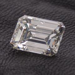 De Beers GIA Certified Emerald Cut Diamond 4 08 Carat - 1214637