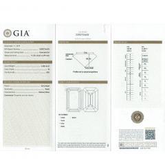 De Beers GIA Certified Emerald Cut Diamond 4 08 Carat - 1214639