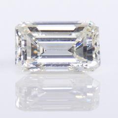 De Beers GIA Certified Emerald Cut Diamond 4 08 Carat - 1214642