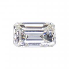 De Beers GIA Certified Emerald Cut Diamond 4 08 Carat - 1215217