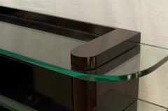 De Coene De Coene Fr res Art Deco Ebonized and Glass Console - 517757
