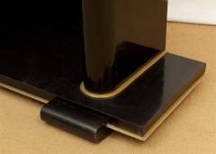 De Coene De Coene Fr res Art Deco Ebonized and Glass Console - 517763