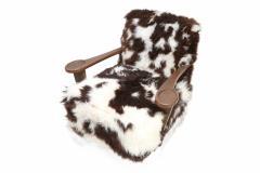 De Coene De Coene Sheepskin Arm Chair - 264618