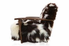 De Coene De Coene Sheepskin Arm Chair - 264619