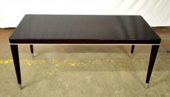 De Coene Maison De Coene Superb Art Deco Coffee Table with Silver End Leg - 454941
