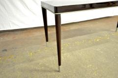 De Coene Maison De Coene Superb Art Deco Coffee Table with Silver End Leg - 454942
