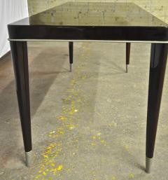 De Coene Maison De Coene Superb Art Deco Coffee Table with Silver End Leg - 454943