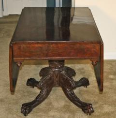 Deming Bulkley American Classical Drop Leaf Pedestal Table - 1467838