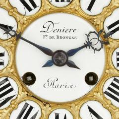 Deni re et Fils Antique Eclectic Style Gilt Bronze Clock Set by Henri Picard and Deni re et Fils - 1907406