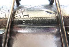 Derby Silver Company Turtle Pulling Cart Victorian Figural Napkin Ring Rare American Circa 1885 - 964876