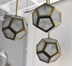 Design Fr res Cluster of 3 Pentagone Lanterns - 718986