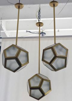 Design Fr res Cluster of 3 Pentagone Lanterns - 718987