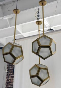 Design Fr res Cluster of 3 Pentagone Lanterns - 718988