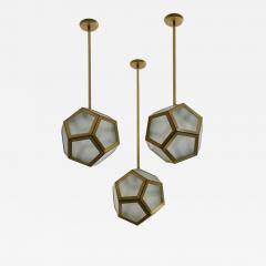 Design Fr res Cluster of 3 Pentagone Lanterns - 725480