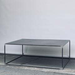 Design Fr res Complete Set of Filiforme Minimalist Patinated Steel Living Room Tables - 1409689