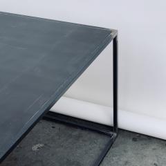 Design Fr res Huge Minimalist Filiforme Patinated Steel Coffee Table by Design Fr res - 1409578