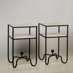 Design Fr res Pair of 2 Tier Entretoise Side Tables by Design Fr res - 1538621