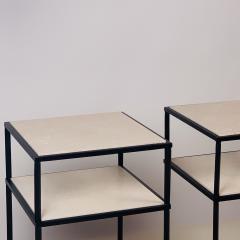 Design Fr res Pair of 2 Tier Entretoise Side Tables by Design Fr res - 1538623