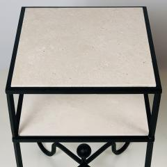Design Fr res Pair of 2 Tier Entretoise Side Tables by Design Fr res - 1538630