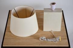 Design Fr res Pair of Bloc Parchment Table Lamp by Design Fr res - 1536009