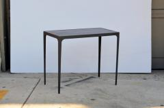 Design Fr res Pair of Esquisse Ebonized Grooved Oak Side Table - 1062075