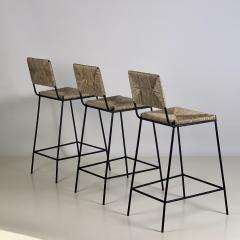 Design Fr res Set of 3 Campagne Counter Height Stools by Design Fr res - 1359485