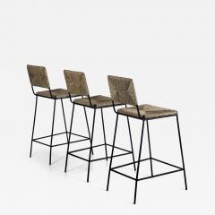 Design Fr res Set of 3 Campagne Counter Height Stools by Design Fr res - 1366212