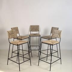 Design Fr res Set of 5 Campagne Counter Height Stools by Design Fr res - 1342987