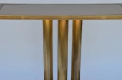Design Fr res The Calandre Narrow Brass Mirrored Console - 719885