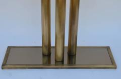 Design Fr res The Calandre Narrow Brass Mirrored Console - 719887