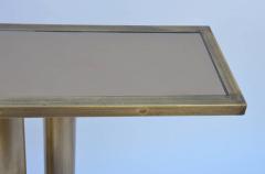 Design Fr res The Calandre Narrow Brass Mirrored Console - 719889