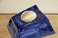 Design Fr res Trap ze Sculptural French Studio Ceramic Lamp - 1087216