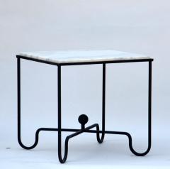 Design Fr res Wrought Iron and Marble Entretoise Side Table by Design Fr res - 1088058
