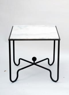 Design Fr res Wrought Iron and Marble Entretoise Side Table by Design Fr res - 1088060