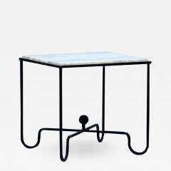 Design Fr res Wrought Iron and Marble Entretoise Side Table by Design Fr res - 1090871