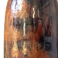 Designhuset Dramatic Copper Luster Black Glazed Lamp by C H Stalhane - 1932291