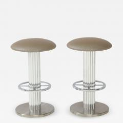 Designs for Leisure Ltd Pair of Design for Leisure Bar Stools  - 1155725