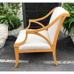 Dessin Fournir Companies Dessin Fournir Large Therien Studios Biedermeier Arm Chair - 1654575