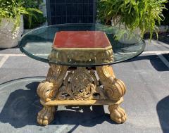 Dessin Fournir Companies Quatrain Regency Giltwood Rococo Center Table - 1622135