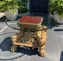 Dessin Fournir Companies Quatrain Regency Giltwood Rococo Center Table - 1622138