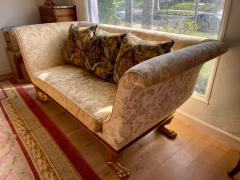 Dessin Fournir Companies Quatrain Regency Style Giltwood Mahogany Sofa Dessin Fournir - 1932477
