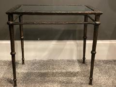 Diego Giacometti BRONZE DIEGO GIACOMETTI STYLE BRUTALIST SIDE TABLE - 1388547