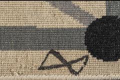Diego Giacometti Diego Giacometti Carpet La Rencontre Signed circa 1984 France - 1103824