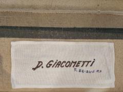 Diego Giacometti Diego Giacometti Carpet La Rencontre Signed circa 1984 France - 1103827